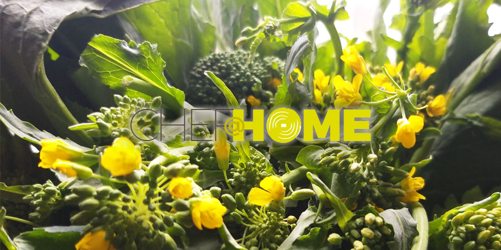 CHEF@HOME – Le cime di rapa dello chef Andrea Demaria