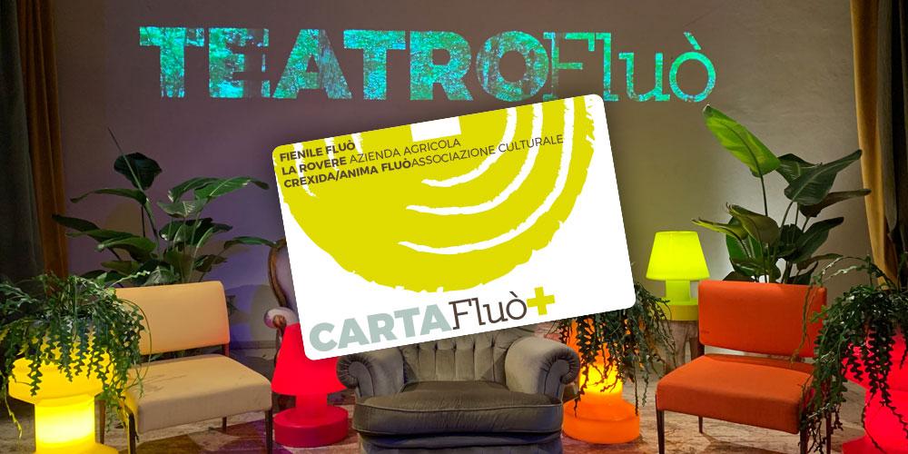 CARTA FLUÒ + : DALLA PARTE DELLA CULTURA, TANTI VANTAGGI PER TE!